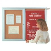 Enclosed Bulletin & Letter Boards