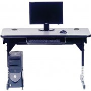 8700 Series T-Leg Computer Table (48