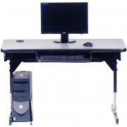 8700 Series T-Leg Computer Table (36