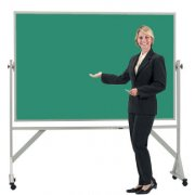 Reversible Board Porcelain Chalkboard Both Sides (4'x3')