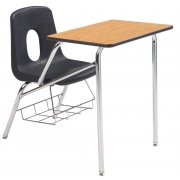 Poly Student Chair Desk - Laminate Top (14