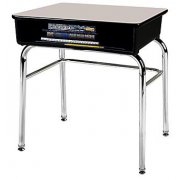 School Desk - Laminate - U Brace - Fixed Height