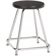 Fixed-Height Lab Stool with Laminate Seat (18