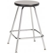 Fixed-Height Lab Stool with Laminate Seat