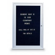 Enclosed Illuminated Letterboard (1-Door)