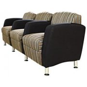 Accompany 3-Seat Lounge Chair Two Tone Grade 8