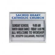 Satin Alum Double Faced Illuminated Directory (70