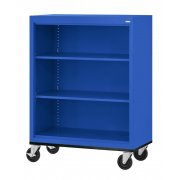 Mobile Steel Bookcase (3'Wx4'H)