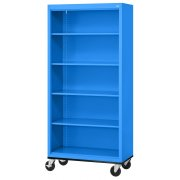 Mobile Steel Bookcase (36