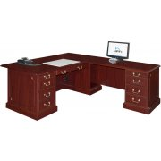 Bedford L-Shaped Office Desk- R Return Large