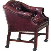 Bedford Tufted Conference Chair w/ Casters