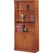 Belmont Bookcase with Doors (36