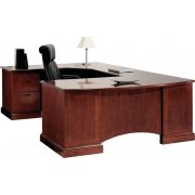 Belmont Left Corner U-Shaped Office Desk