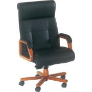 Belmont Leather High Back Chair