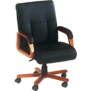 Belmont Leather Mid Back Chair