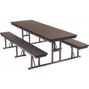 Rectangular Cafeteria Table (6')