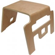 Interlocking Bentwood Wooden Stool