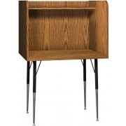 Single Leg Based Carrel