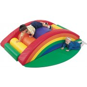 Indoor Soft Play Rainbow Arch Climber