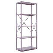 Industrial Metal Shelving - 5 Open Shelves, 36