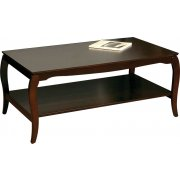Coffee Table with Shelf (45.5 x 26