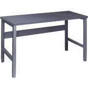Adjustable Height Steel Workbench - Steel Top (30