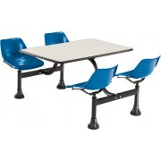 Cluster Seating Table - Laminate Top (30x48