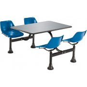 Cluster Table with Stainless Steel Top (30x48)