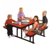 Rectangular Preschool Cafeteria Table (5')