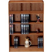 Classic Radius Bookcase, Steel Reinforced (3'Wx5'H)