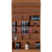 Classic Radius Bookcase, Steel Reinforced (3'Wx7'H)