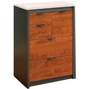 Counter-Height Lateral & Vertical File Cabinet - No Top