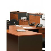 School Office Lateral File Cabinet w/ 3 Drawers, Countertop