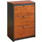 Counter-Height 3-Drawer Lateral File - No Top