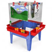 4-Station Paint Center w/o Mega Tray Toddler