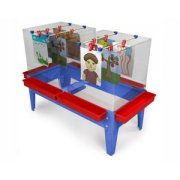 6-Station Paint Center Toddler w/o Mega Tray