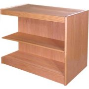 Echelon Double Sided Library Shelving - Adder (23.75