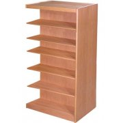 Echelon Double Sided Library Shelving - Adder (19.75