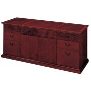Del Mar Executive Office Credenza File Cabinet