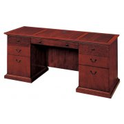 Exec. Kneehole Credenza with Return Molding