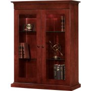 Del Mar Closed Bookcase for File (3'Wx4'H)