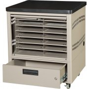 12-Unit Netbook Cabinet Cart w/5