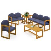 Grouped Chairs with Upgraded Fabric (5-Pc)