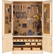 Woodworking Tool Storage Cabinet
