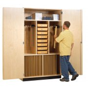 Drafting Supply and Storage Cabinet (60