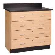 4-Drawer Base Cabinet