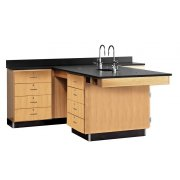 Perimeter Science Lab Workstation - 4 Drawer Unit