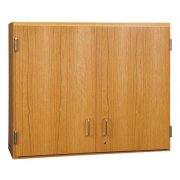 Wall Cabinet with Solid Oak Doors (48