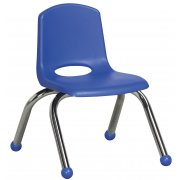 Classroom Chair - Chrome Legs (10