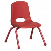 ECR Poly Classroom Chair - Colored Legs (12